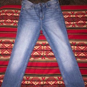 | Hollister high-rise super skinny pants |